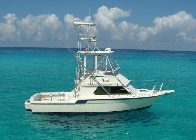 Best rated Cozumel fishing charter.
